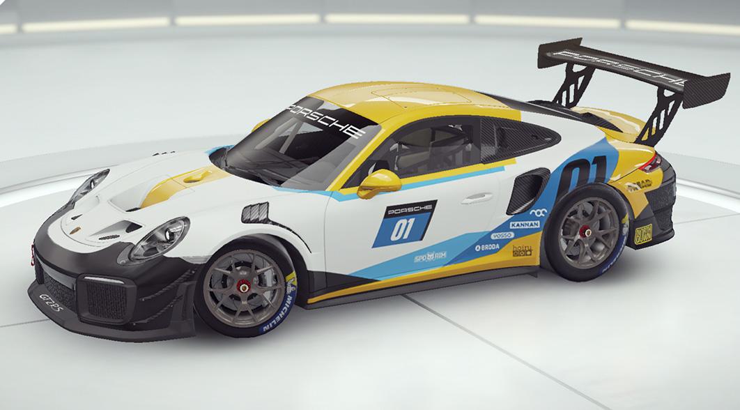 Aspal 9 Porsche 911 GT2 RS Clubsport