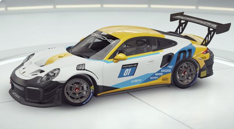 Asphalte 9 Porsche 911 GT2 RS Clubsport