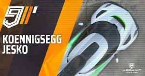 Asphalte 9 Koenigsegg Jesko Grand Prix