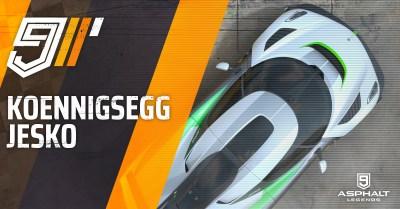 Asphalt 9 Koenigsegg Jesko Gran Prix