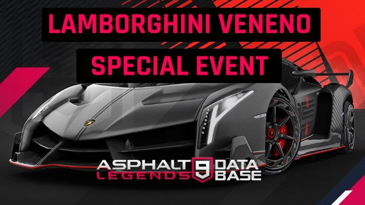 Lamborghini Veneno Özel olay