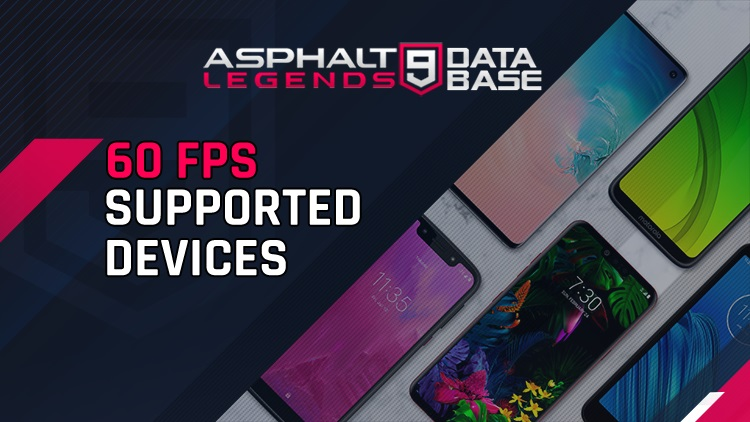 asphalt 9 60 dispositivi supportati fps