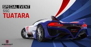 Asphalt 9 SSC Tuatara Special Event