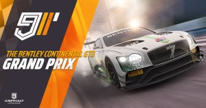 Asphalt 9 Bentley Continental GT3 Grand Prix