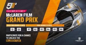 Asphalte 9 McLaren F1 LM grand Prix