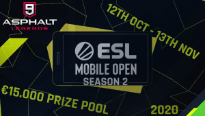 Asphalt 9 ESL Mobile Open Season 2