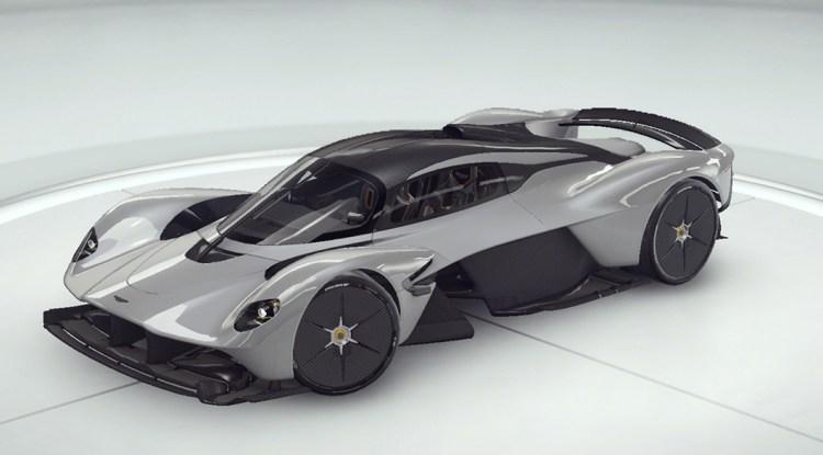 Asphalt 9 Aston Martin Valkyrie