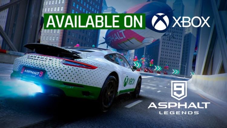 asphalt 9 update 21 xbox release