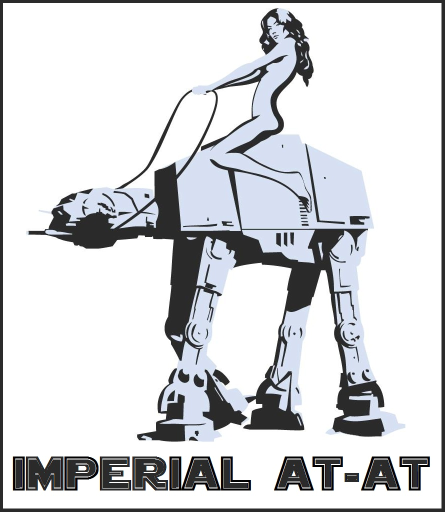 """IMPERIAL AT-AT at """"The Party 10″   ASPHIAX - Frontier Modding"""