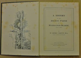 The title page of 470 - btw Wath-on-Dearne is a nice little town, although it gave the world William Hague.
