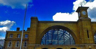 Half of the frontage of King's Cross train station.