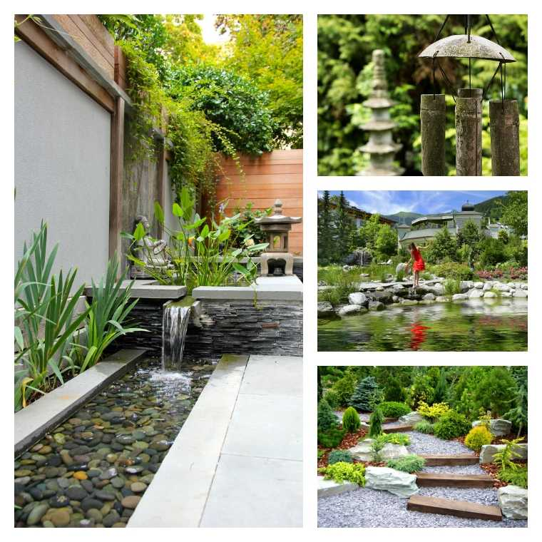feng shui garden plan and zen