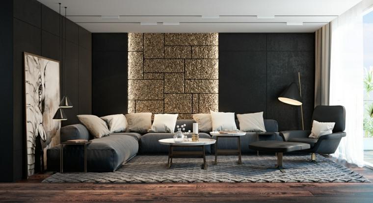 black living room ideas of decorations