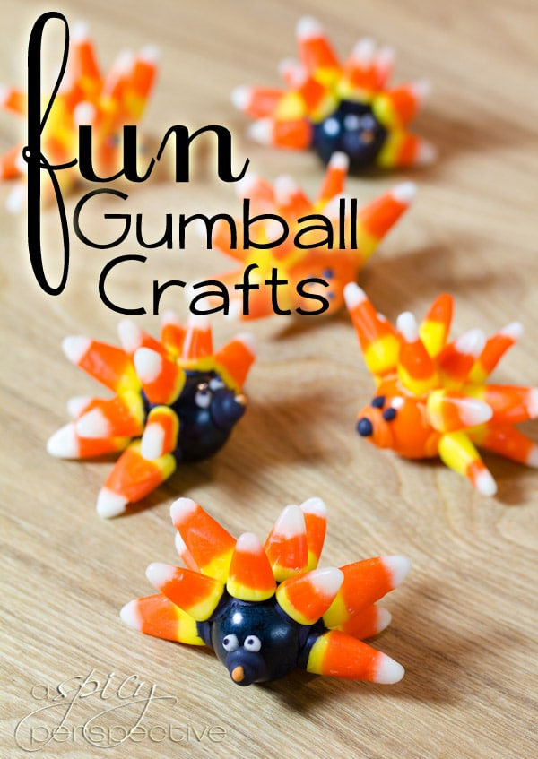Halloween Gumball Crafts A Spicy Perspective
