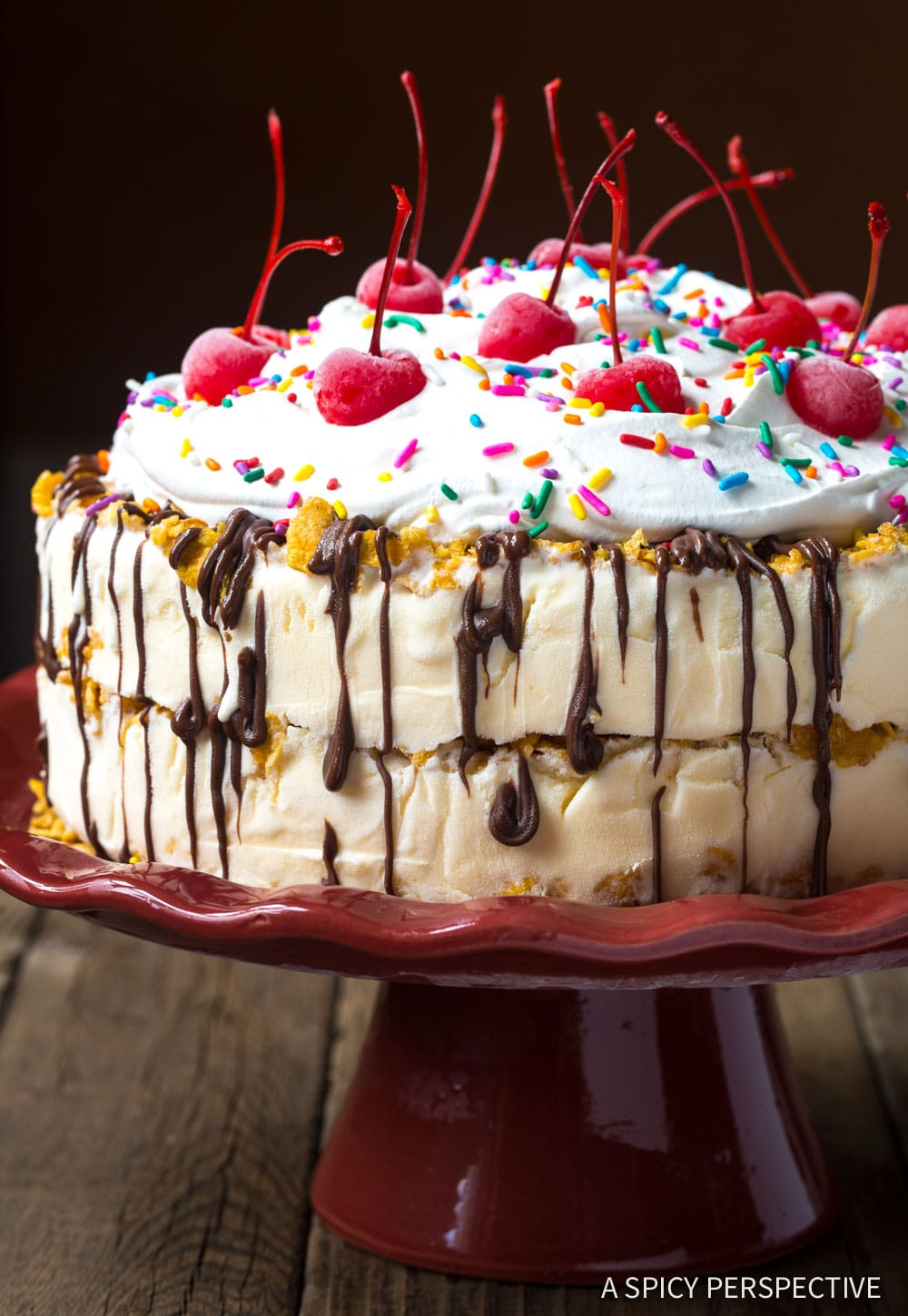 How Long Is Ice Cream Cake Good For : cream, Mexican, Fried, Cream, Spicy, Perspective