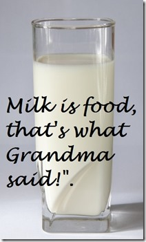 Milk is Food