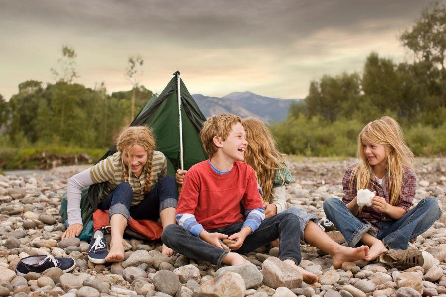 autism camping kids