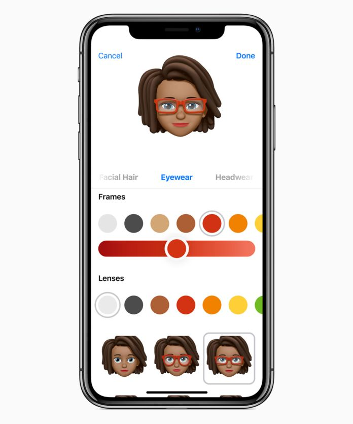 Apple iOS12, Memoji Animoji Emoji, Screenshot | Aspioneer
