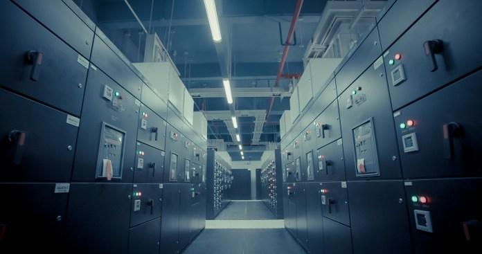 A huge data center   Aspioneer