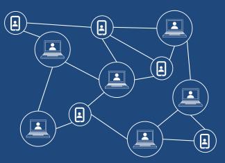 A schematic of Blockchain