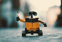 A real picture of Wall.E
