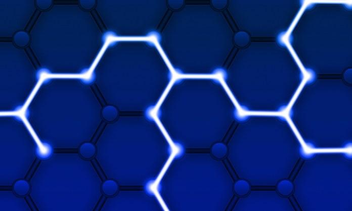 A hexagon pattern representing Blockchain | Aspioneer