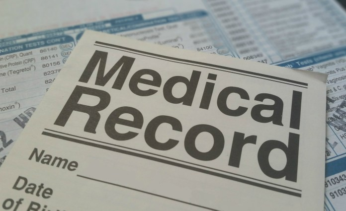 A picture of a Medical Record | Aspioneer