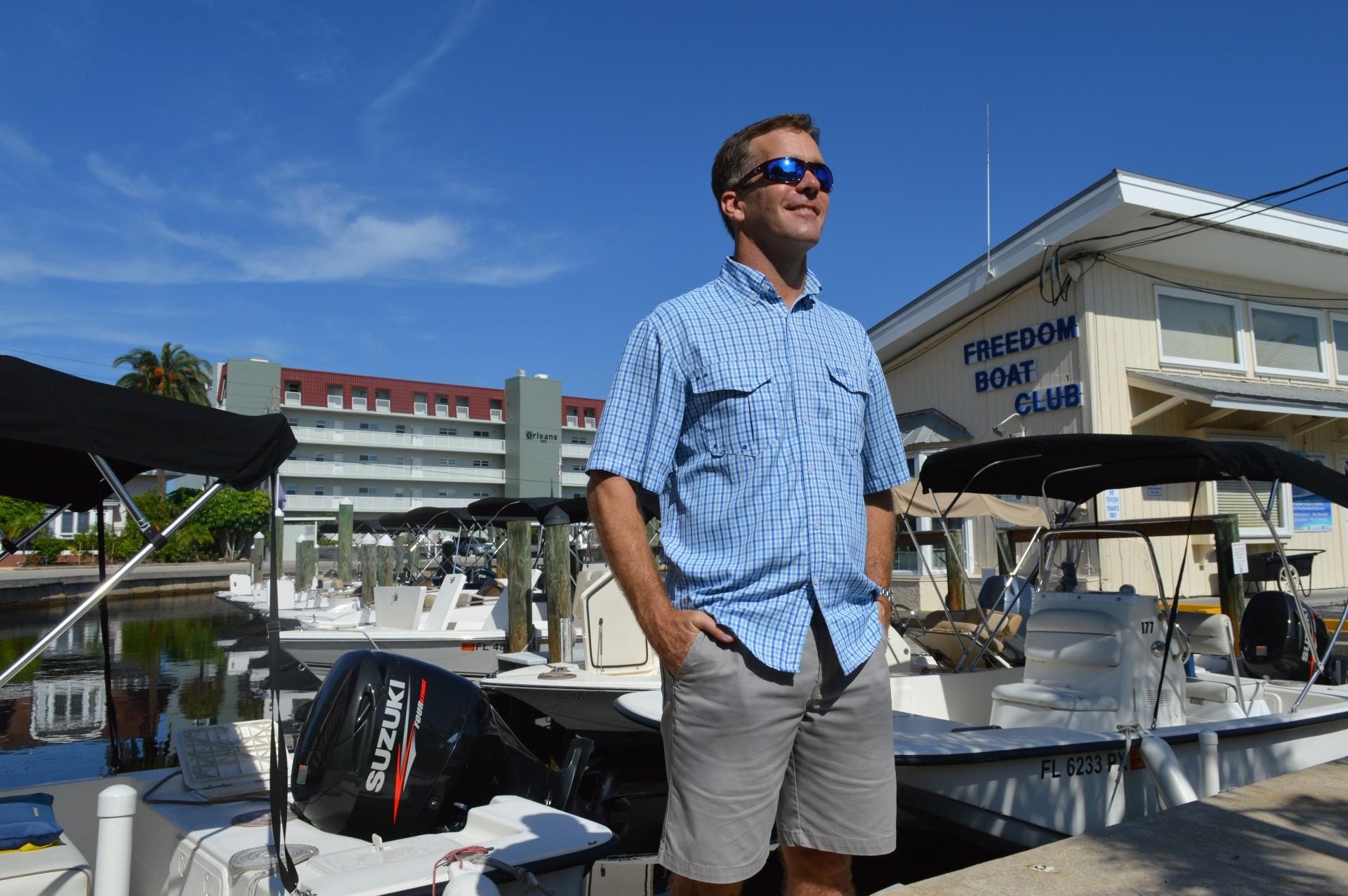 John Giglio, President, Freedom Boat Club