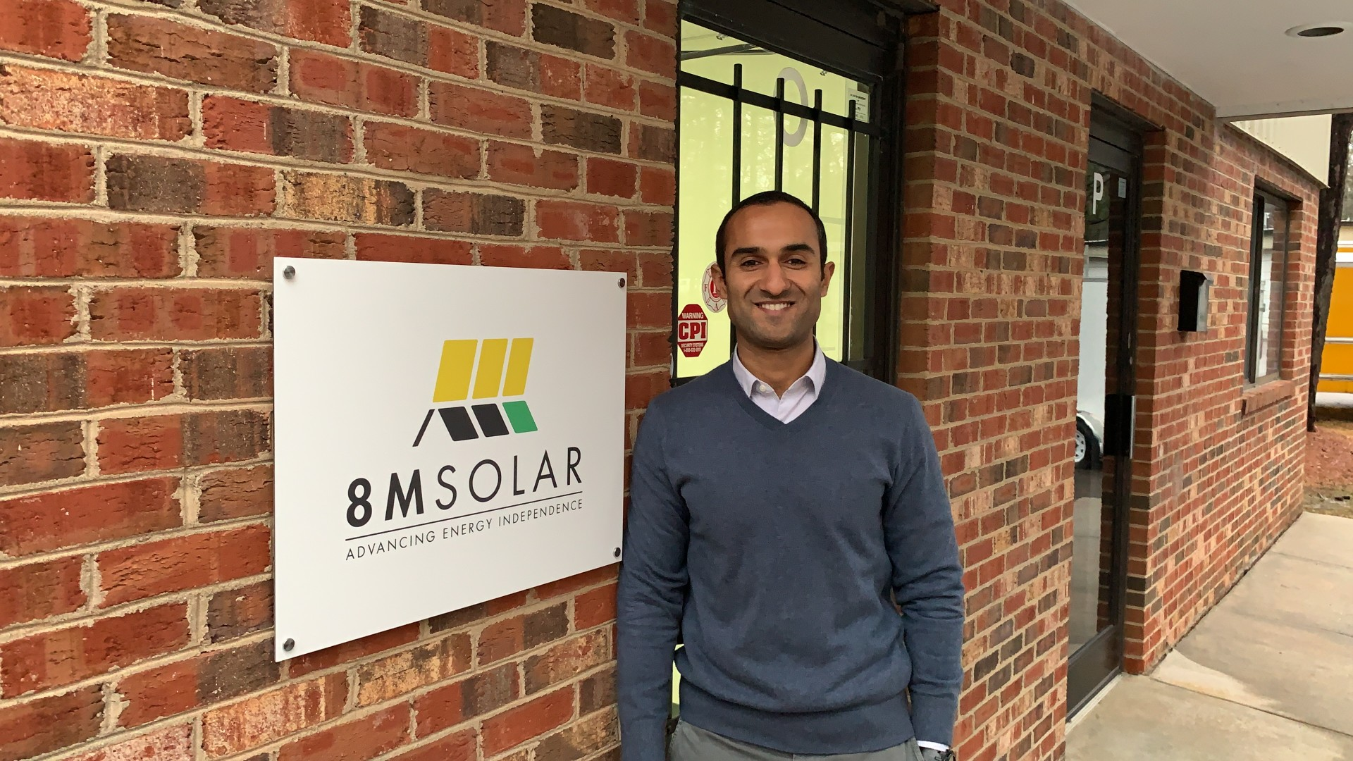 Usman Noor, Co-Founder, 8MSolar.