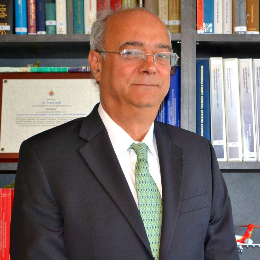 Dr. Frank Abdi, Founder & CTO, AlphaSTAR Corporation.