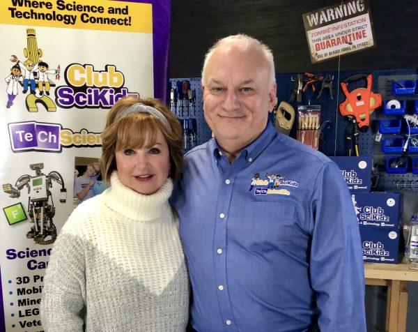 Bob and Sue Hagan, Founders, Club SciKidz.