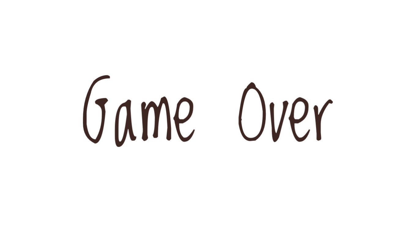 Game over - beta negative - Aspirante Mamma