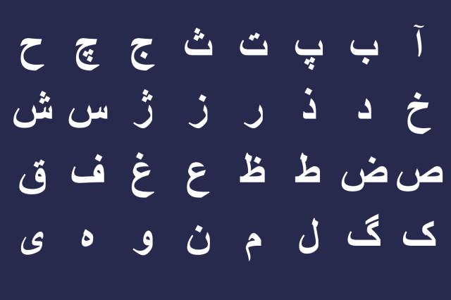 Persian Alphabet and Writing System  ASPIRANTUM