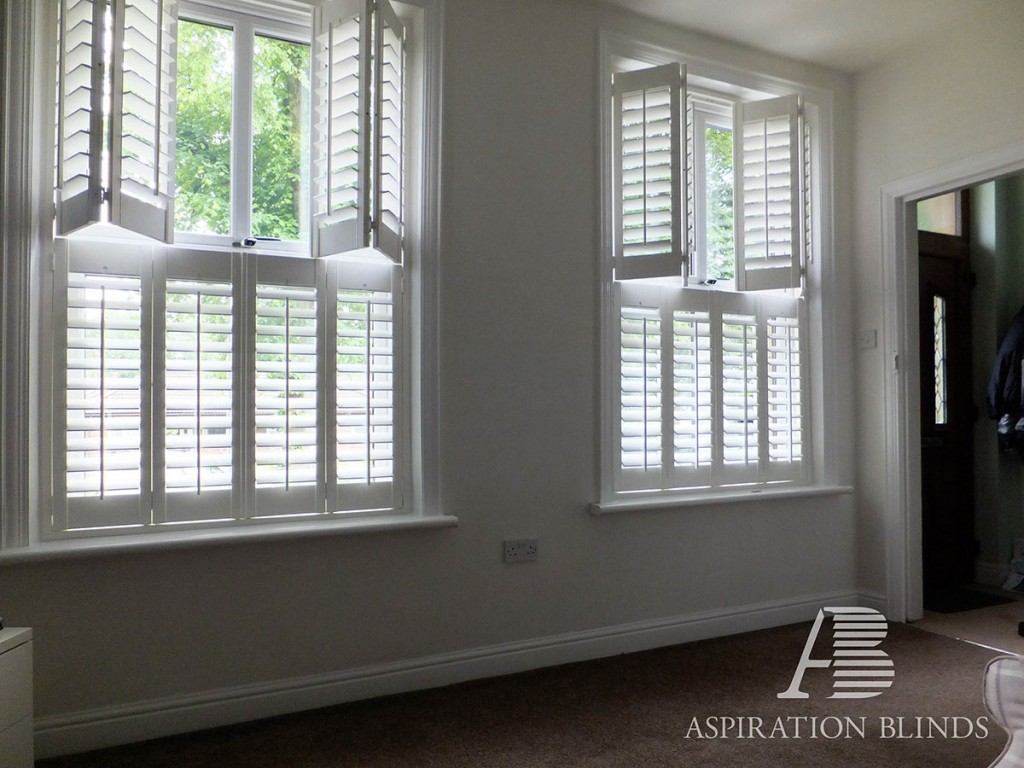 Cafe Style Shutters Aspiration Blinds In Bolton
