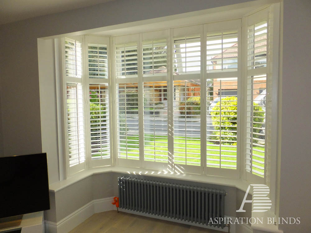 Full Height Style Window Shutters By Aspiration Blinds