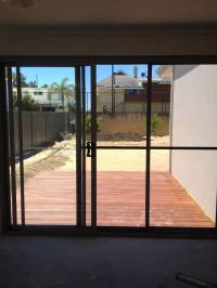 What are the 3 different types of sliding doors?