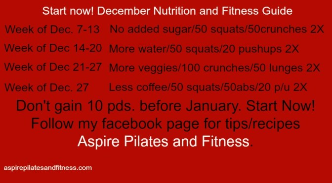 December Nutrition and Exercise Guide
