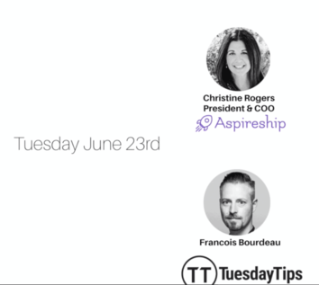 Tuesday Tips Christine Rogers