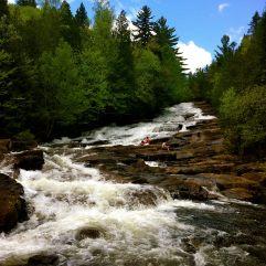 Waber Falls, Québec