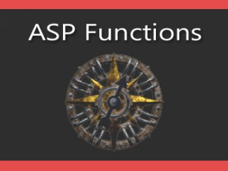 ASP Functions