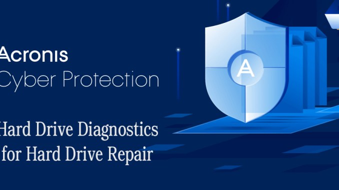 Acronis Hard Drive Diagnostics for Hard Drive Repair