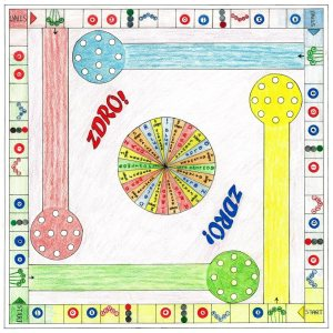 ZDRO! an American style board game.