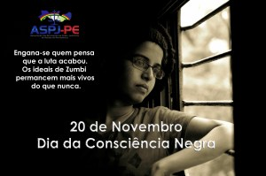 cartaz do dia da consciencia negra