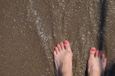 Coral feet :)