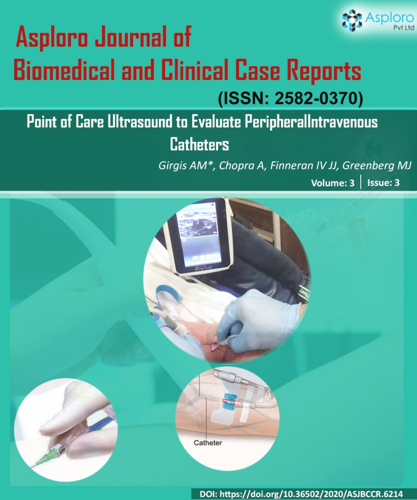 Point Of Care Ultrasound to Evaluate Peripheral Intravenous Catheters