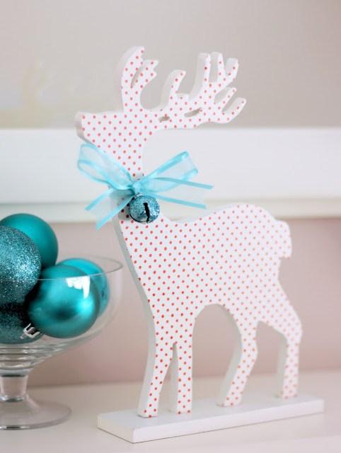 Adairs Aqua Christmas Decorations