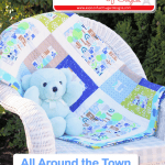 All Around The Town Baby Quilt