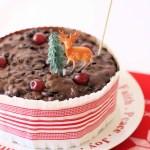 Christmas Cake Frill