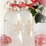 Snowflake Bottle
