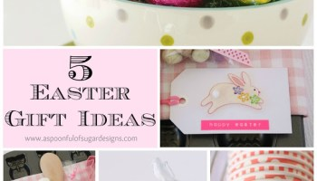 Easter decorating ideas a spoonful of sugar easter gift ideas negle Choice Image